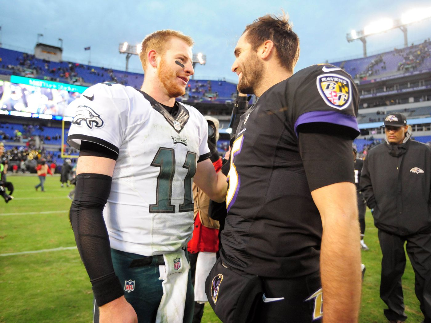 Eagles News Joe Flacco Says There Would Definitely Be A Lot Of