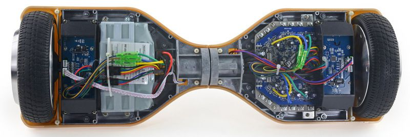 here s what the inside of a hoverboard looks like the verge