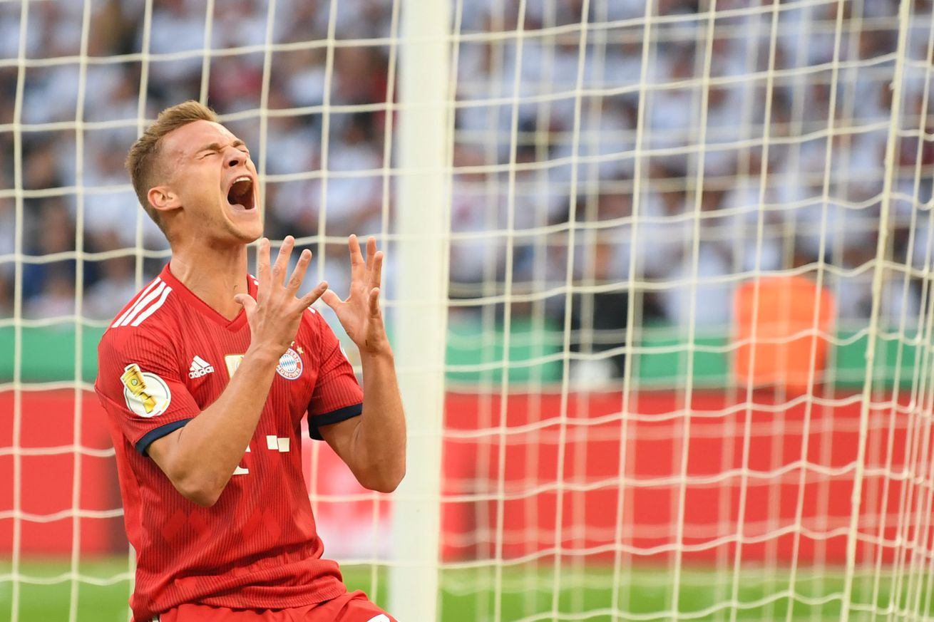 Report: Joshua Kimmich only wants to play in midfield for Bayern Munich