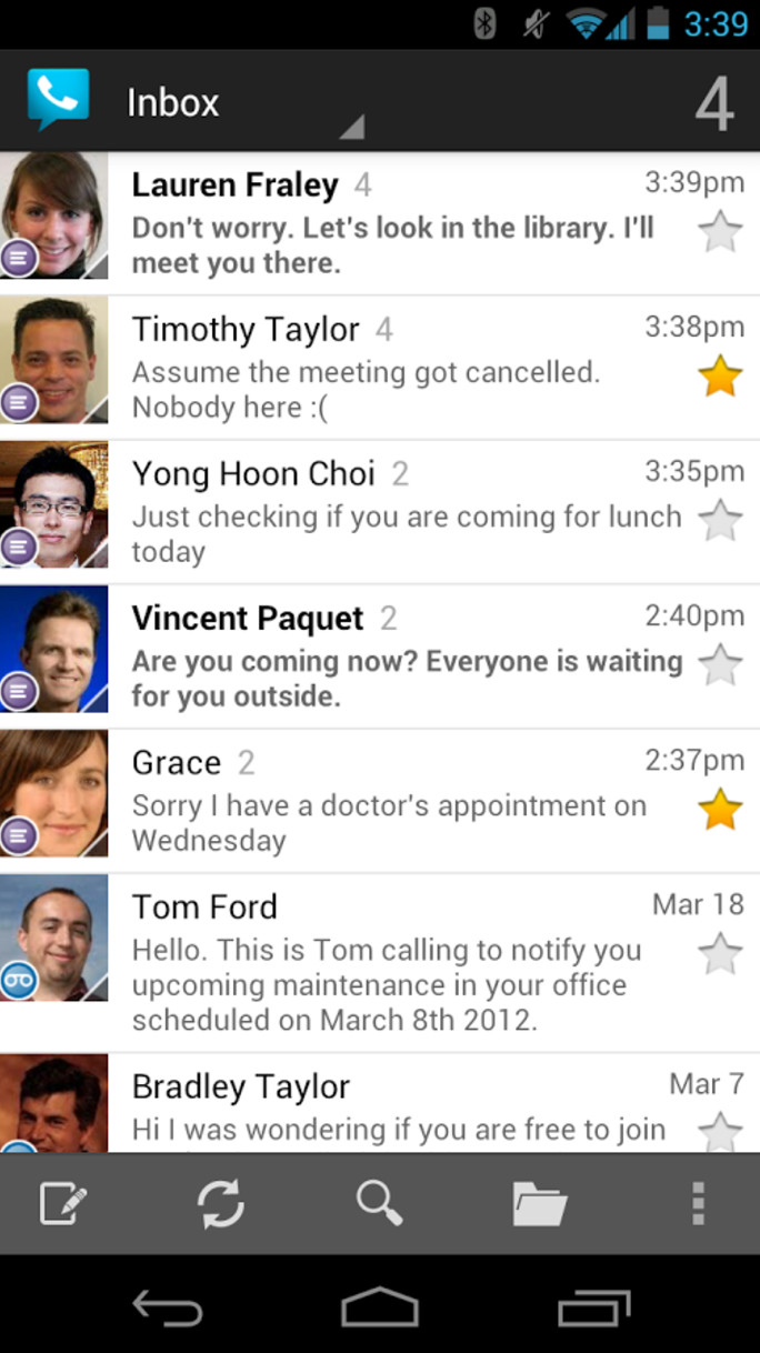 Google voice themes for android - Speaking Of Which Google Claims It S Committed To Preventing Voice From Falling Into The Neglected State It Was Stuck In Prior To Today