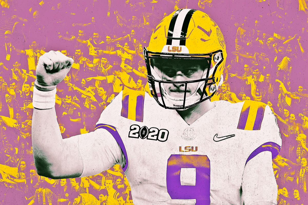 Lsu Is The National Champion And Joe Burrow S Legend Will Live Forever The Ringer