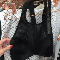 Cameo mesh bra top, $50 (was $120)