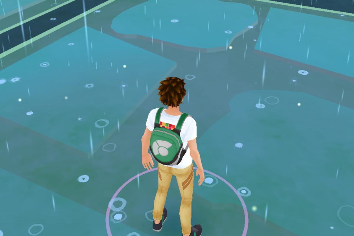 rain in pokémon go