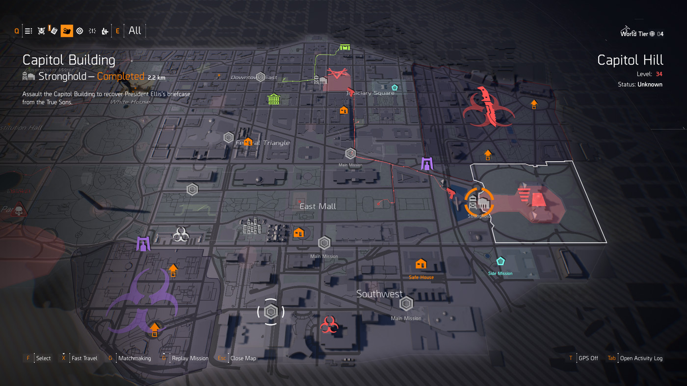 The Division 2 Liberty Exotic sidearm guide - Polygon