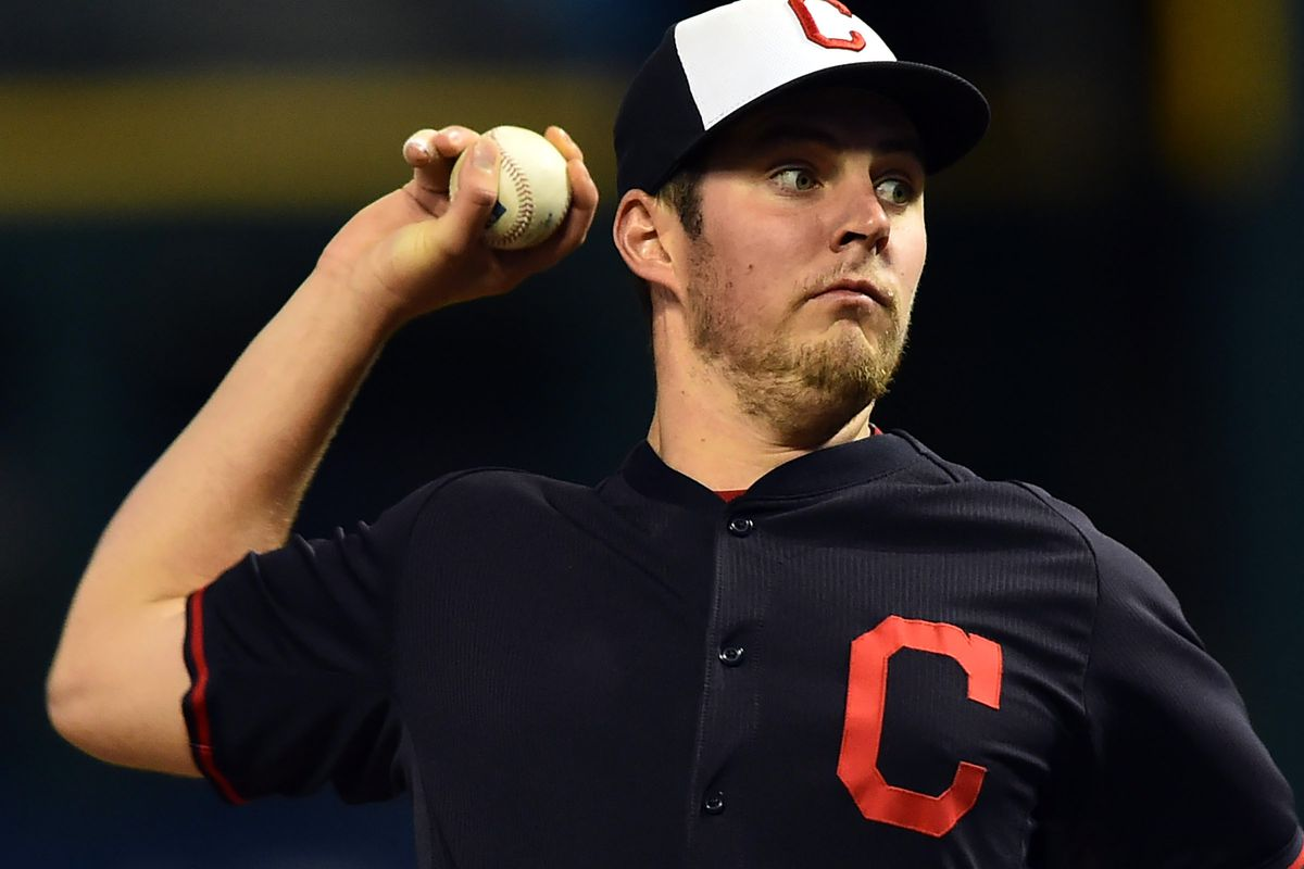 2a46c30b5d7 World Series Game 2  Trevor Bauer faces off against Chicago Cubs ...