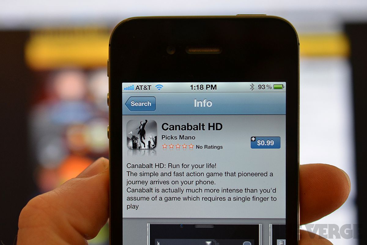 PSA: Fake 'Canabalt' clone for iPhone and iPad in iTunes App