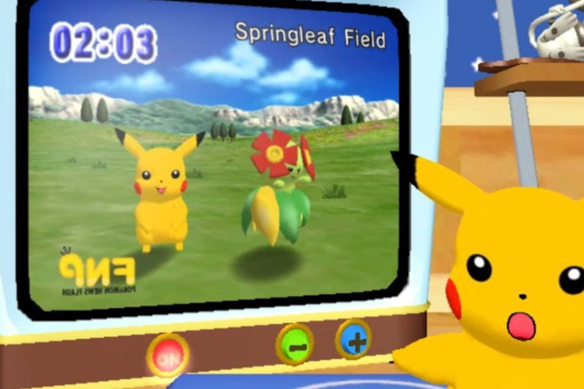 Pokémon Channel was a TV-watching game that was better than anyone