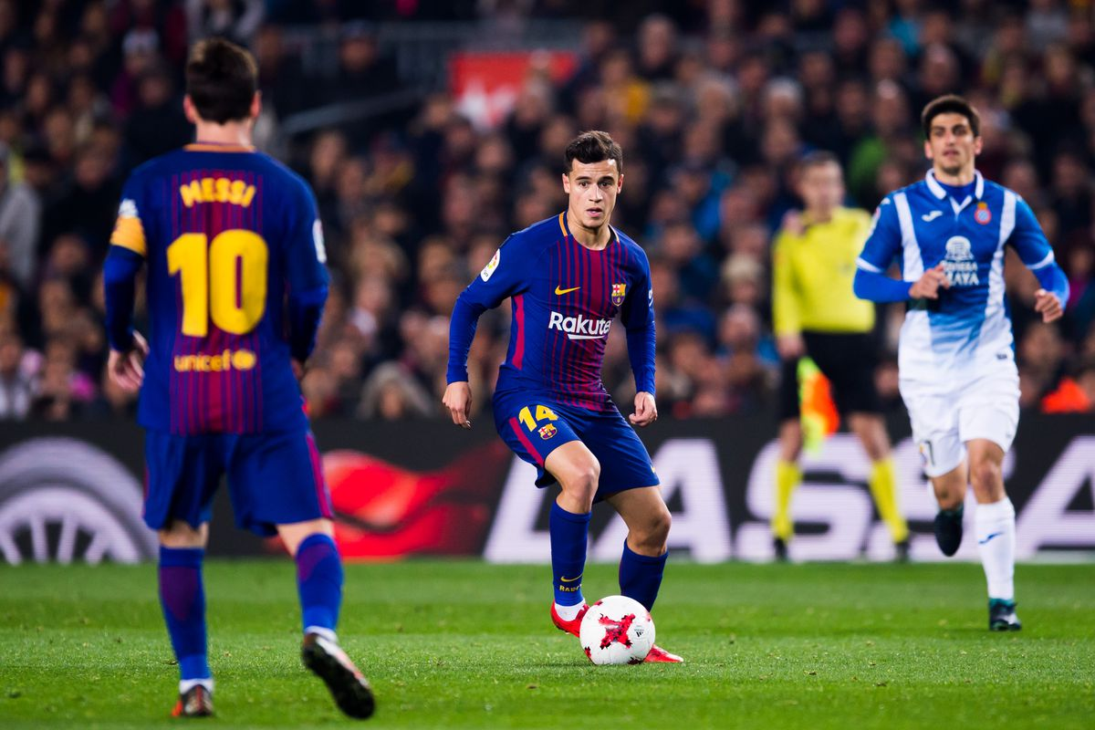 Image result for coutinho Messi