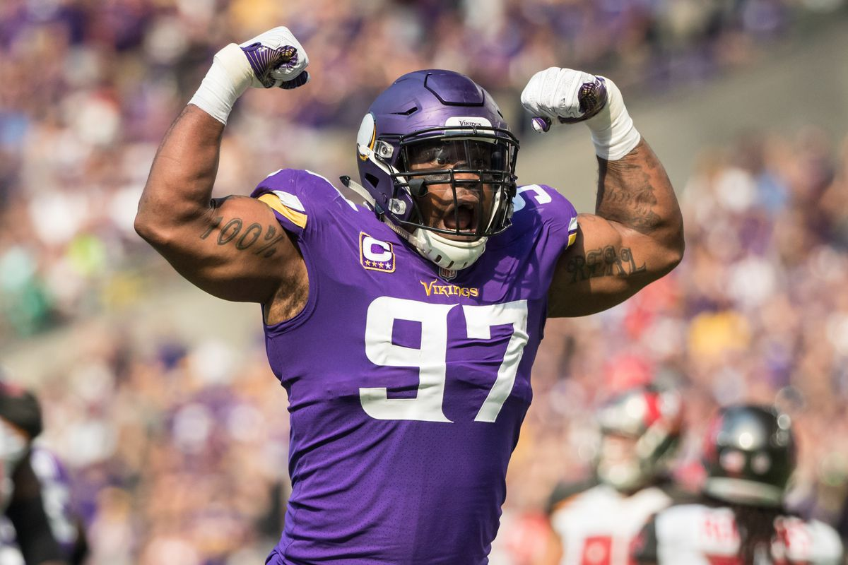Vikings Everson Griffen Calls Out Lions Greg Robinson Daily