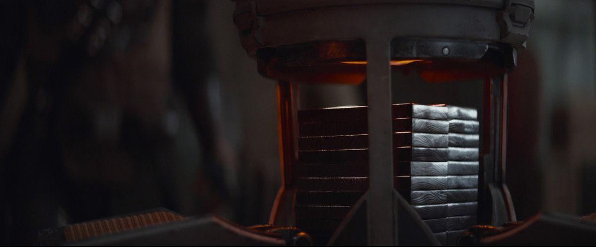 A chest full of Beskar steel in The Mandalorian