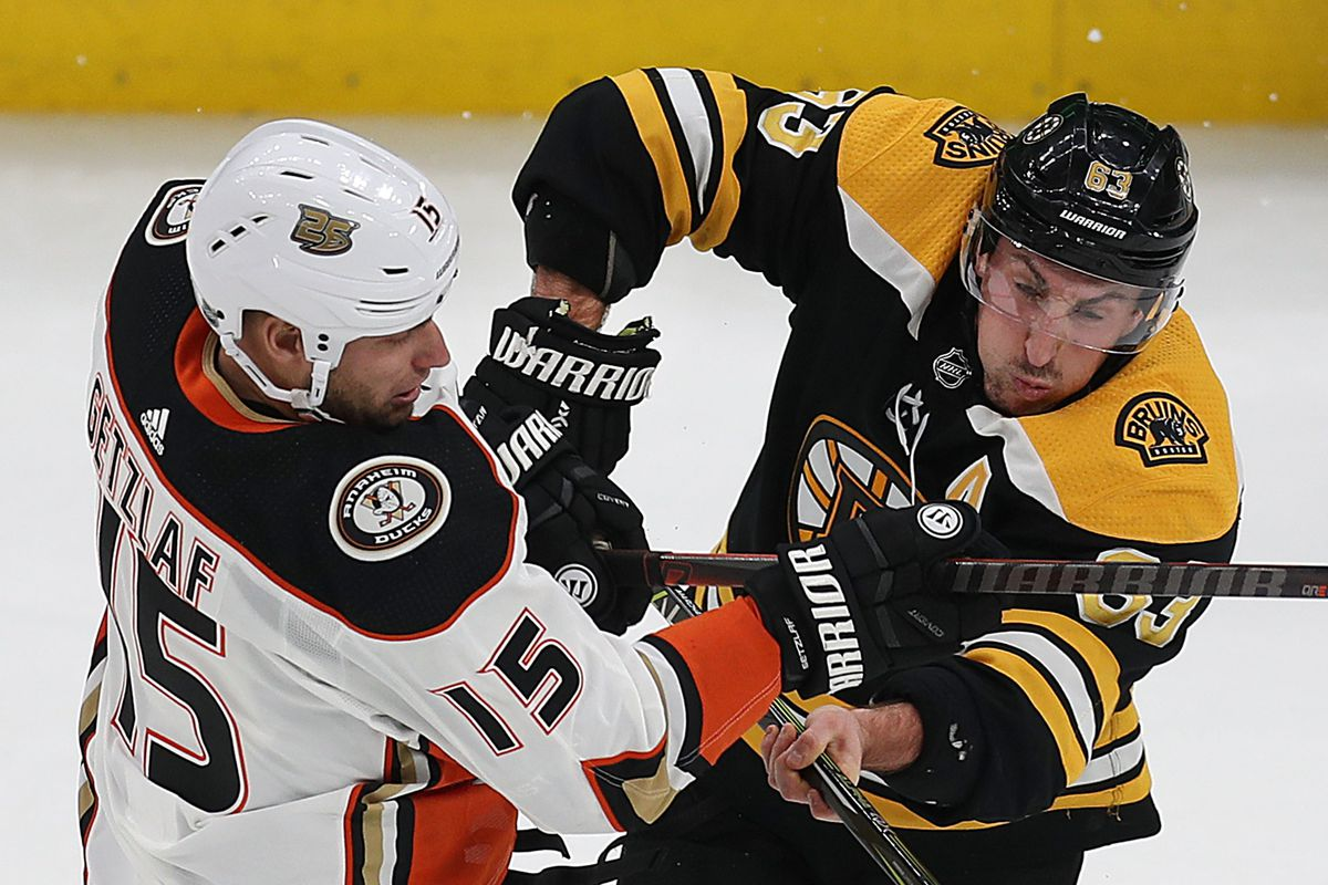 Anaheim Ducks @ Boston Bruins PREVIEW: New England Autumn Rumble