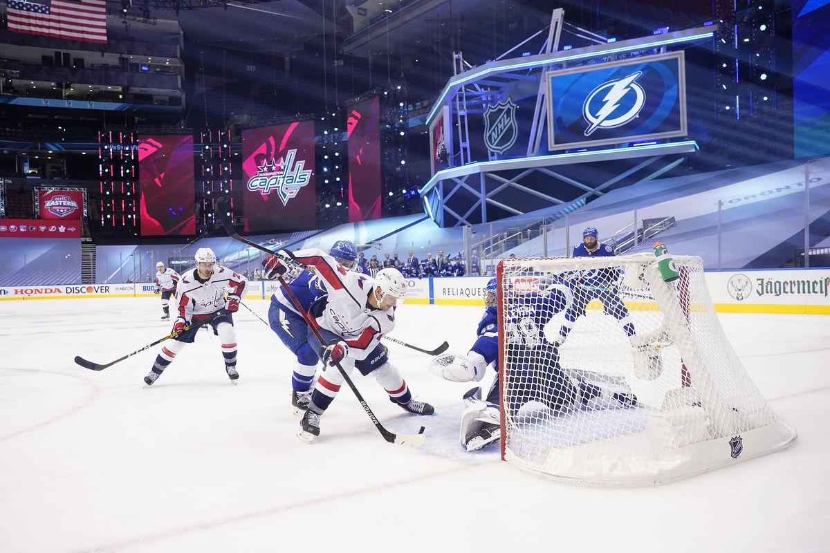Washington Capitals v Tampa Bay Lightning