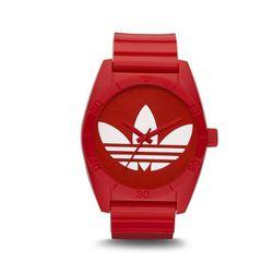 """<a href=""""http://www.adidas.com/us/product/originals-santiago-sunglasses/QV085AA?cid=Q13060&breadcrumb=swZu3Z1z13xgf""""> Adidas Originals Santiago watch</a>, $65 adidas.com"""