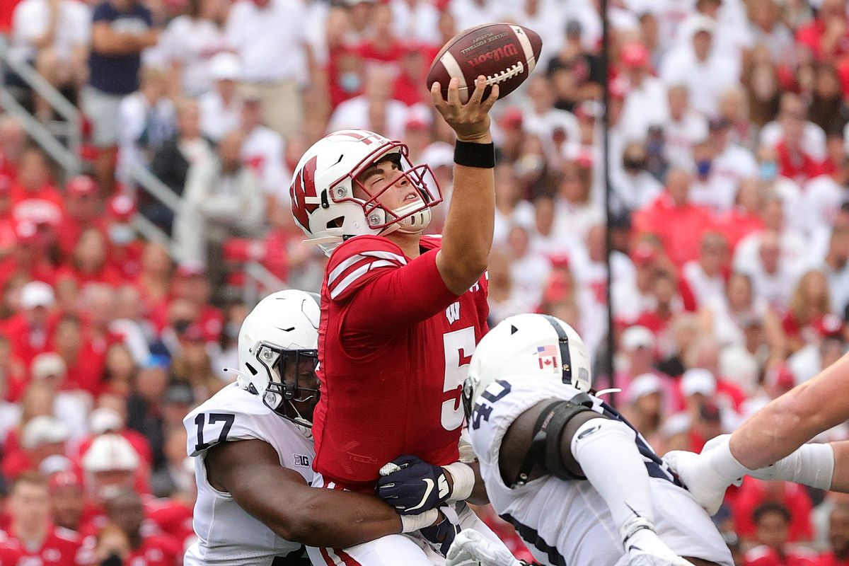 QUICK RECAP: Wisconsin Badgers can't get out of own way, loses to Penn State in season opener - Bucky's 5th Quarter