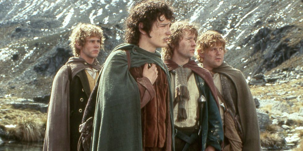 Celebrity Beauty: Frodo, Samwise, Merry and Pippin from The Lord of the Rings