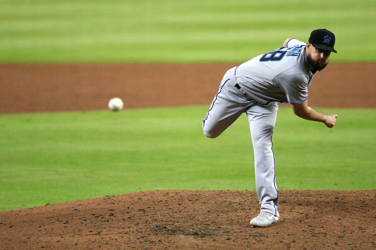MLB: SEP 23 Marlins at Braves