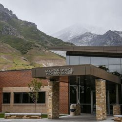 The Mountain Springs Pediatric Center on the Utah State Hospital grounds in Provo is pictured on Wednesday, May 17, 2017.