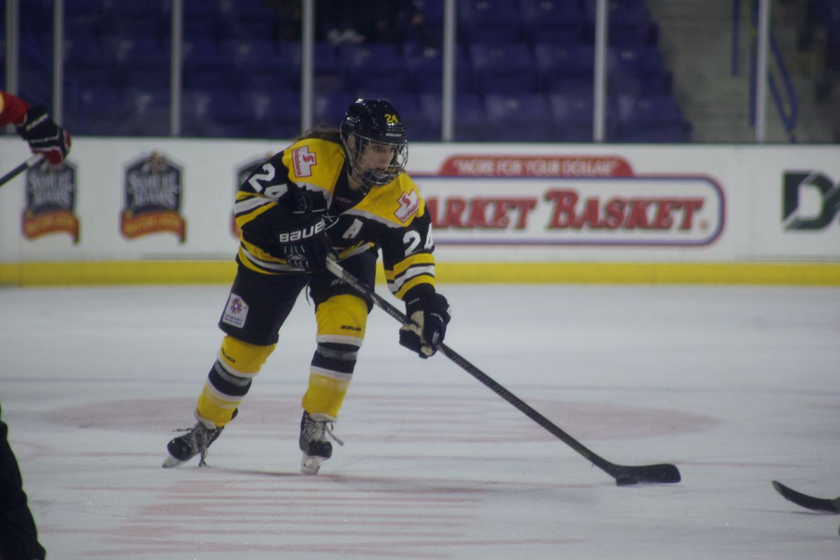 Boston Blades Assistant Captain Kristina Brown.