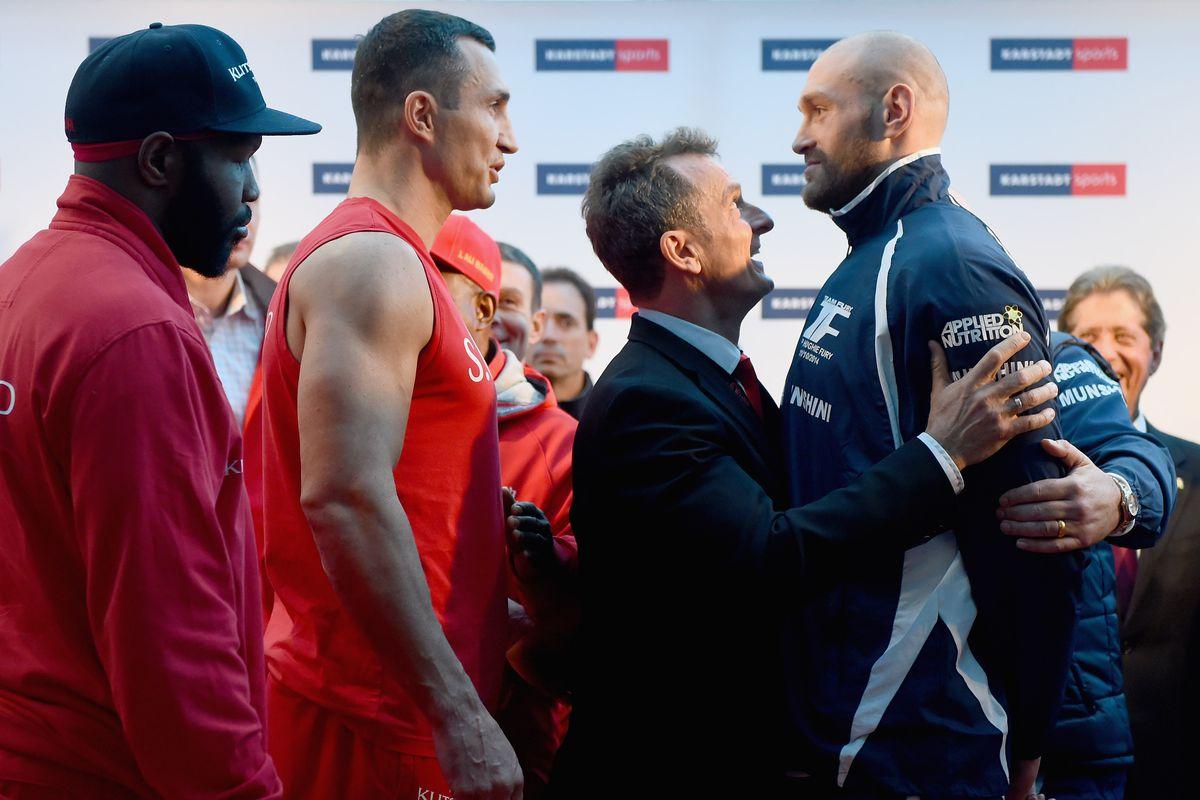 Klitschko vs fury betting odds betting odds nfl explained further crossword