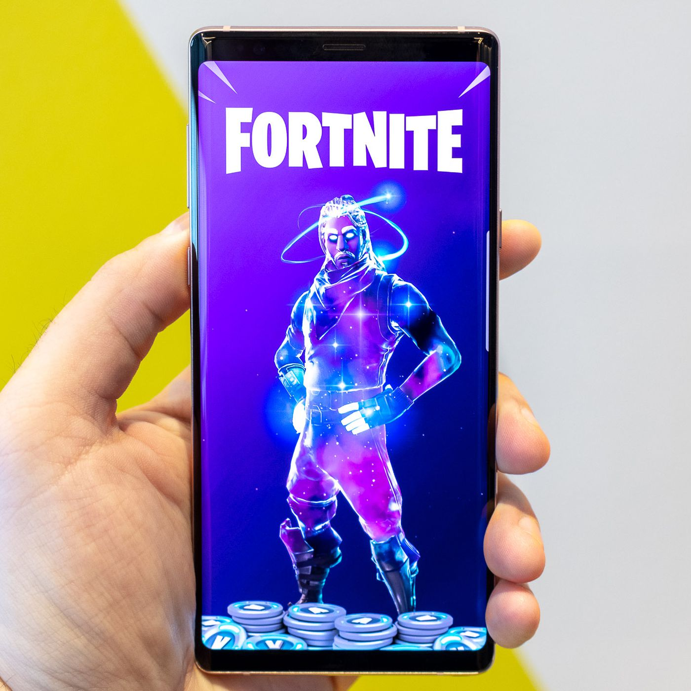 Fortnite for Android is launching today exclusively on