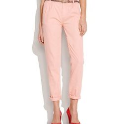 """Madewell Paperbag Trousers, $89.50. Available <a href=""""http://www.madewell.com/newarrivals/pantsshorts/PRDOVR~35445/35445.jsp"""">here</a>."""