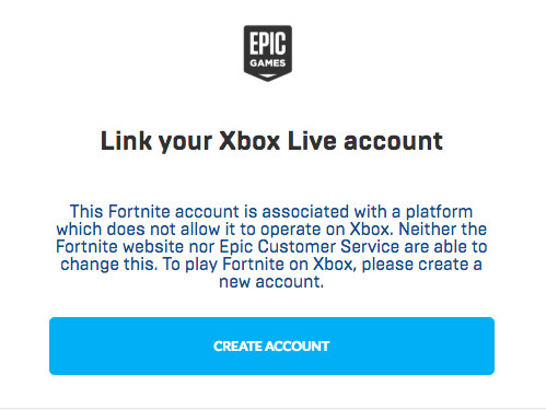 How to link ps4 fortnite account to xbox