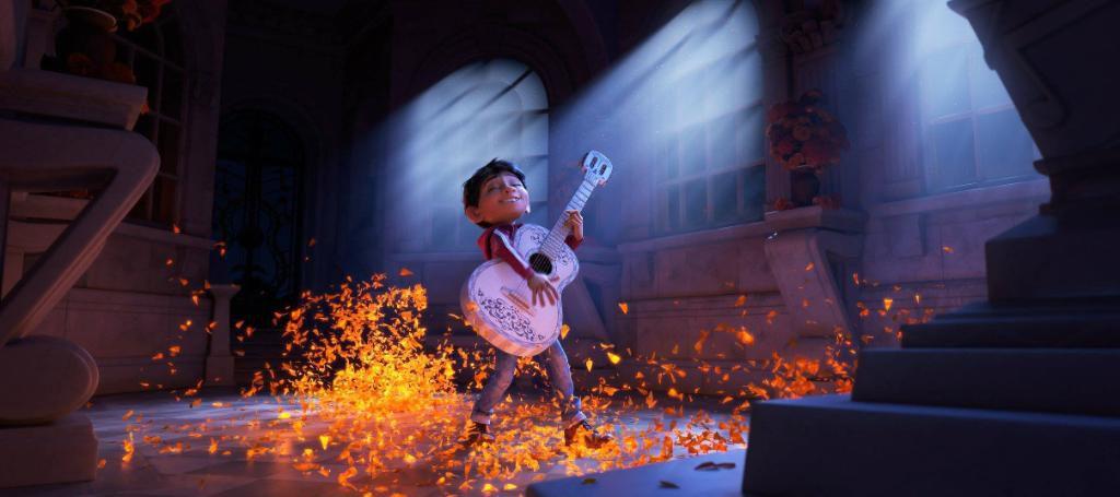 Pixar's Coco - Miguel playing guitar