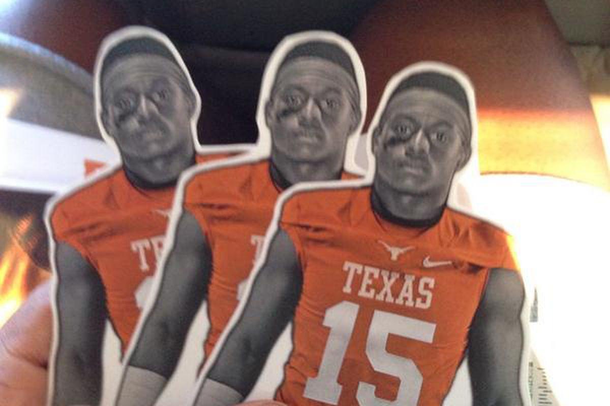 Cutouts sent to Texas safety commit DeShon Elliott