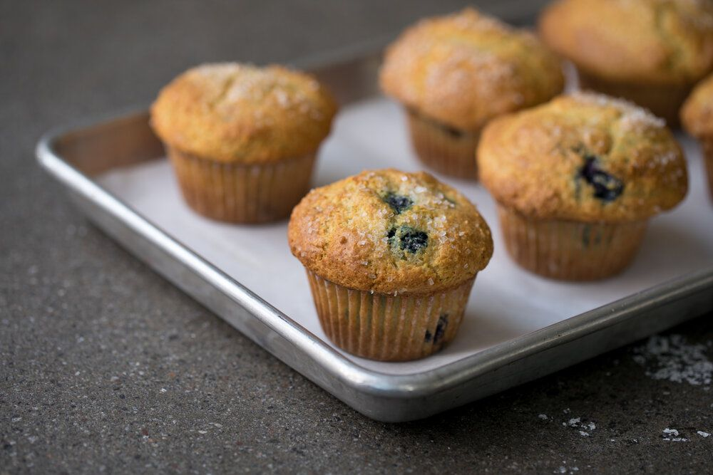 Blueberry muffins from Black Jet