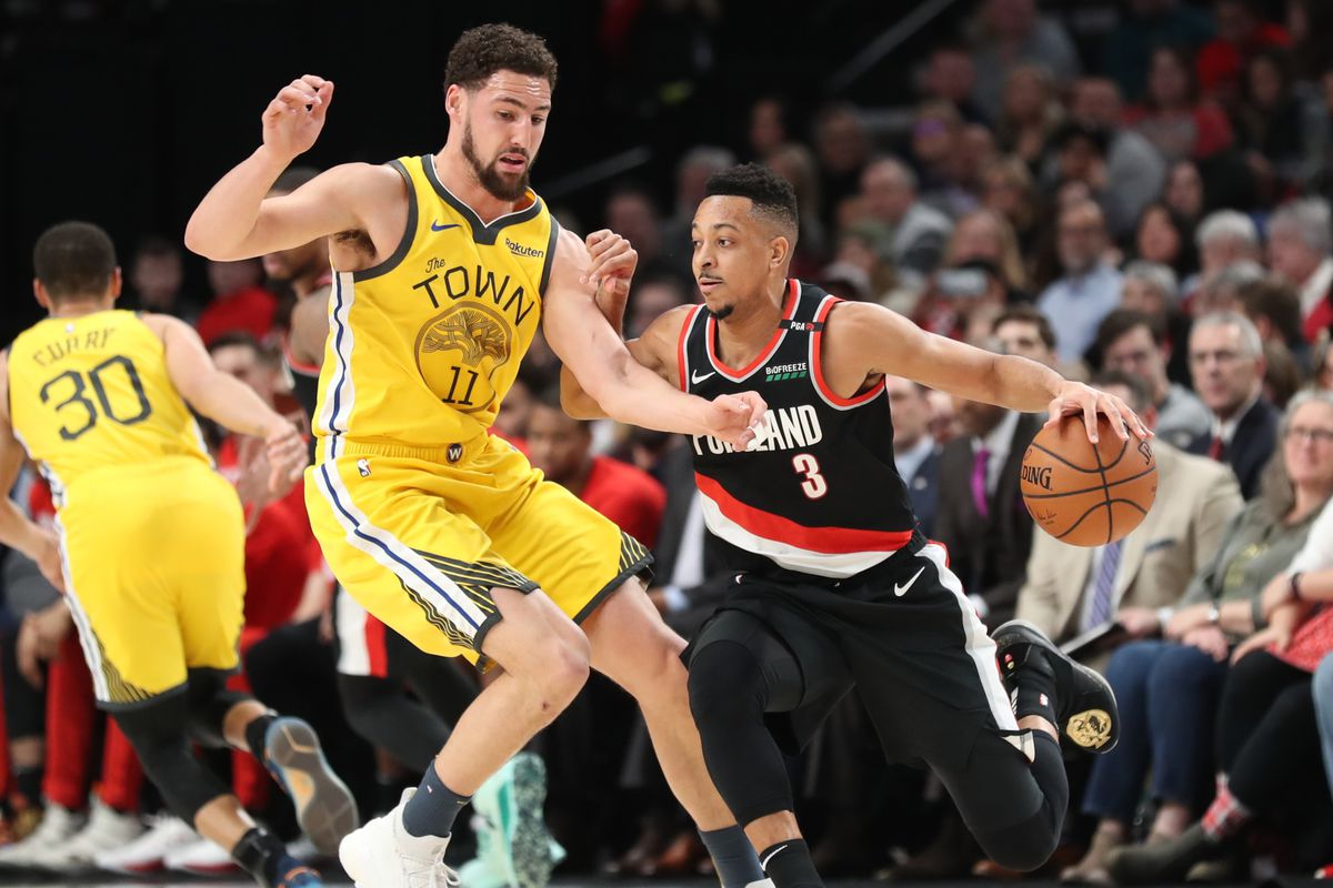 Blazers knock off Nuggets in Game 7; will face Warriors in West Finals