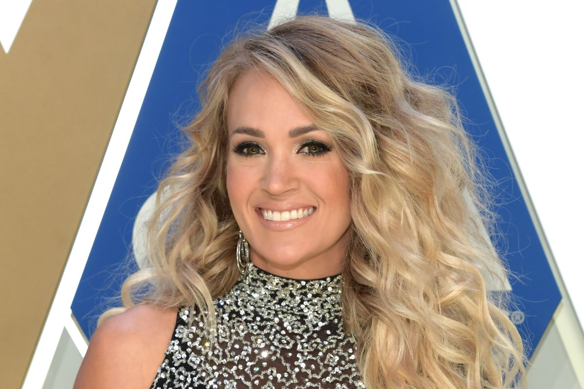 Country artist Carrie Underwood attends the 54th annual CMA Awards at the Music City Center on November 11, 2020 in Nashville, Tennessee.