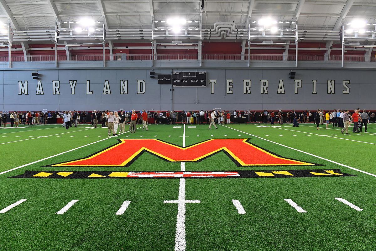 Cole Field House at the University of Maryland dedication
