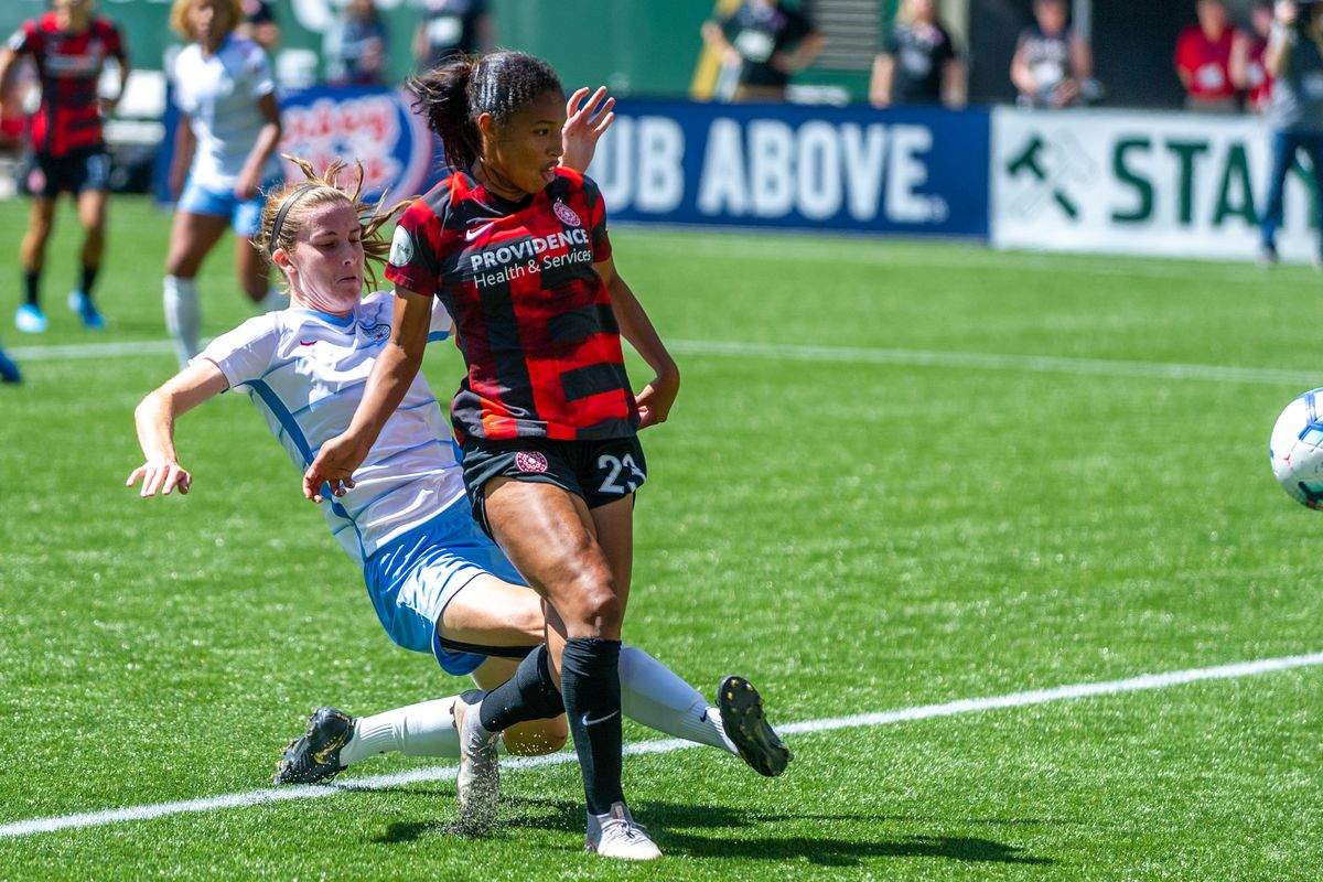 SOCCER: AUG 25 NWSL - Chicago Red Stars at Portland Thorns FC