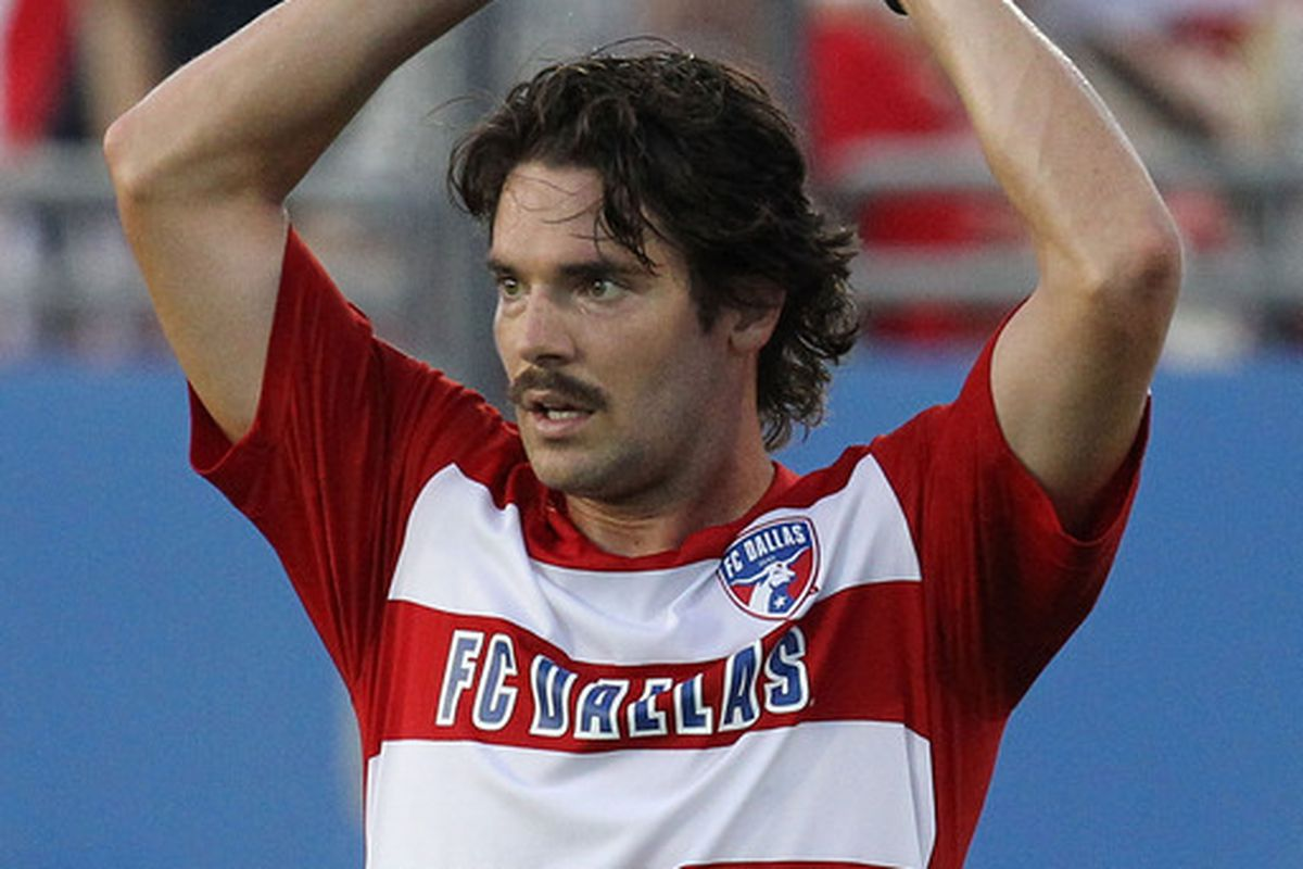 Heath Pearce was sent packing today for allocation money from Chivas USA.  (Photo by Ronald Martinez/Getty Images)