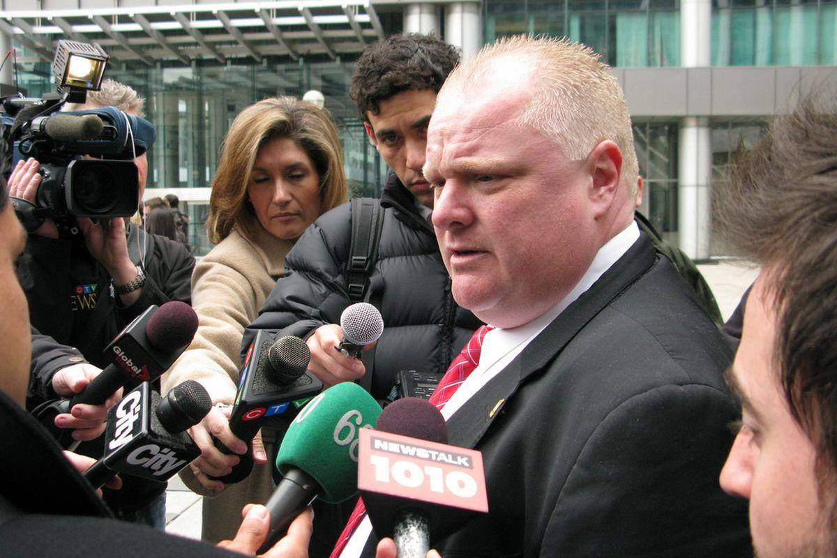Toronto Mayor Rob Ford (West Annex News, Flickr)