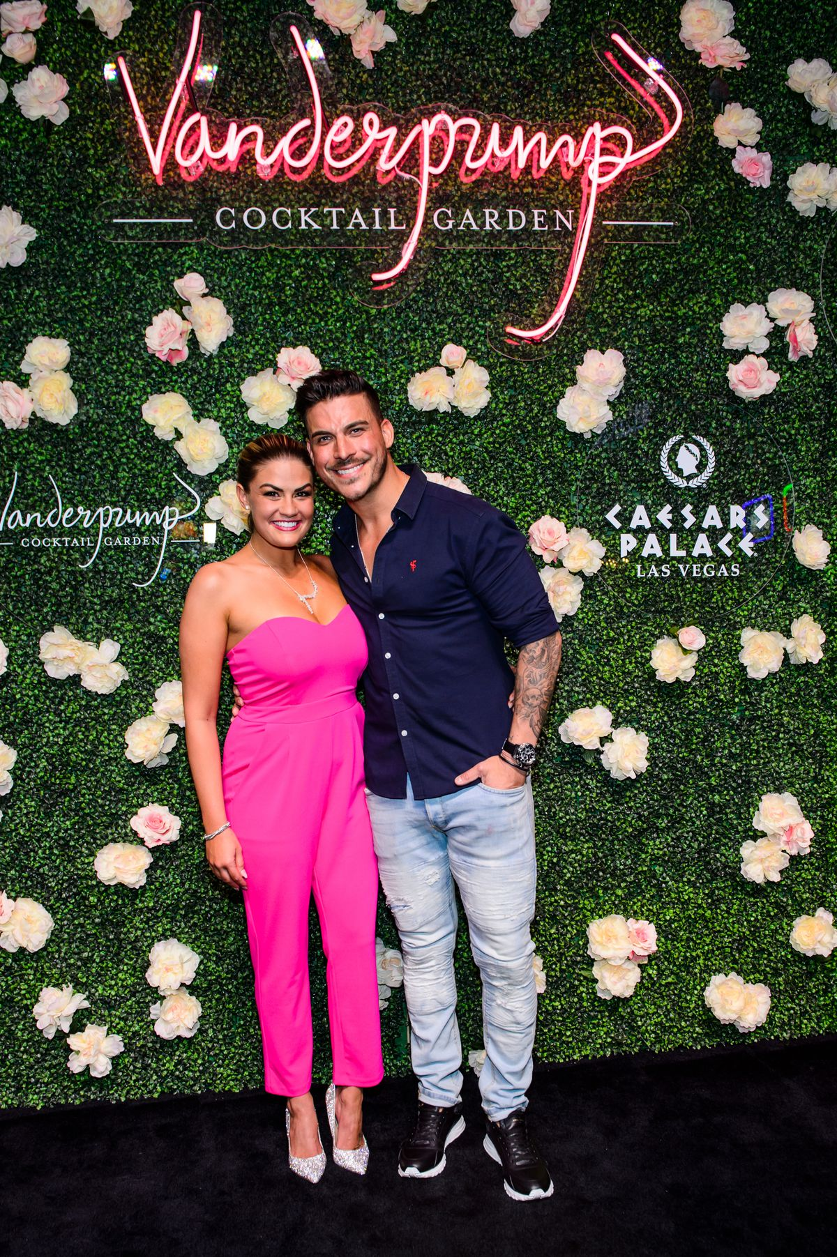 27e7cc2e719 Brittany Cartwright and Jax Taylor at the Vanderpump Cocktail Garden  opening Caesars Palace Kabik Photo Group