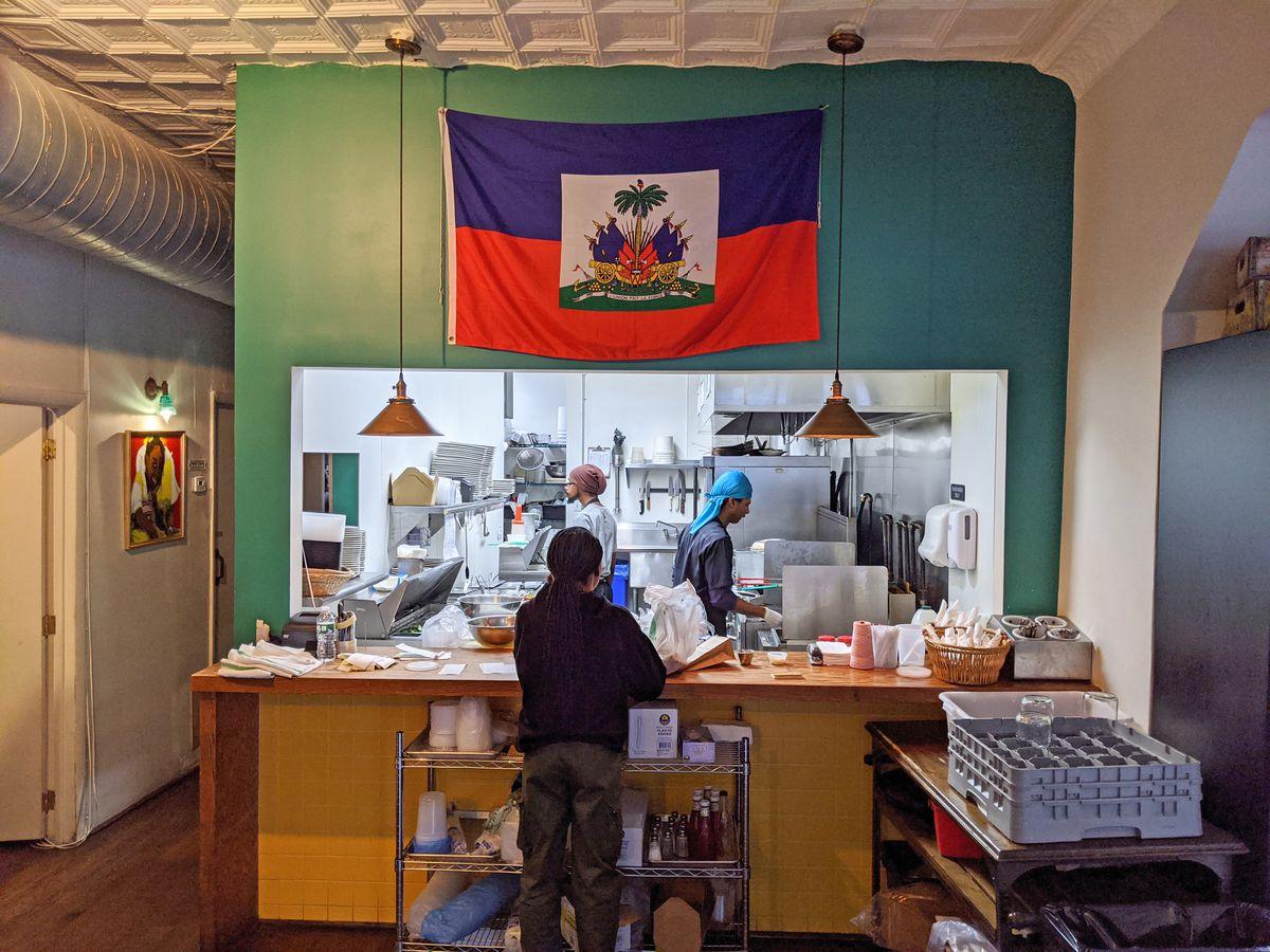 Grandchamps kitchen Haitian Stuyvesant Heights
