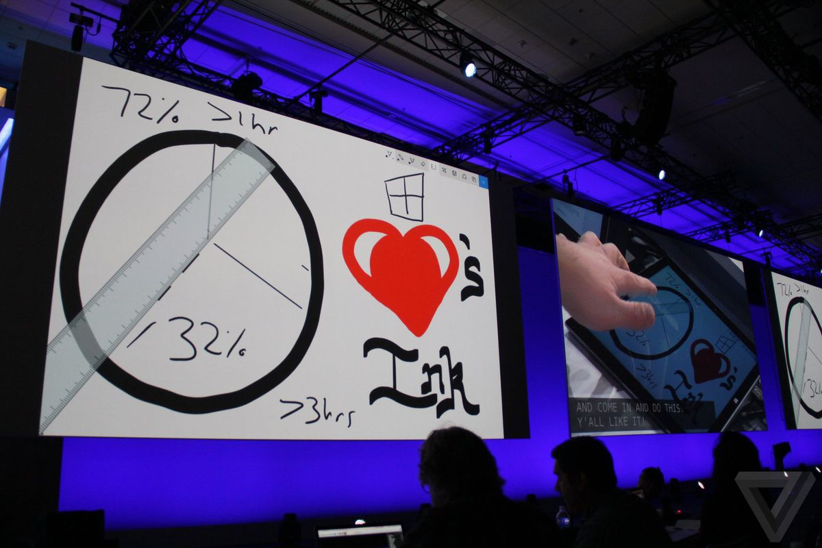 Microsoft S New Windows Ink Puts The Pen Front And Center