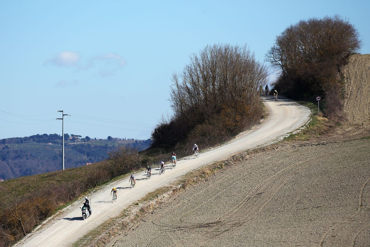 strade bianche hill