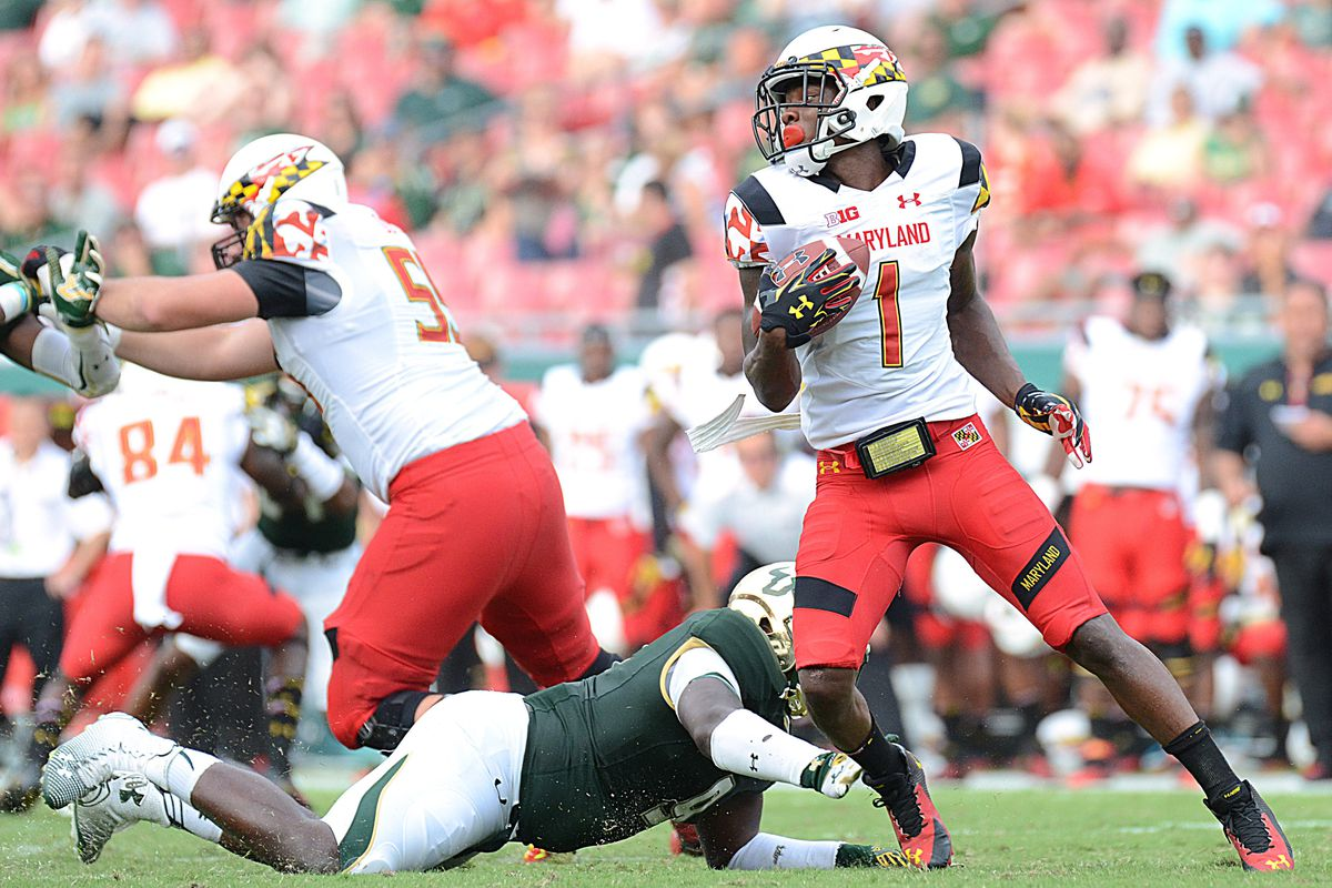Stefon Diggs, the Terps' top target at WR, will be tough for the Hoosiers to handle.