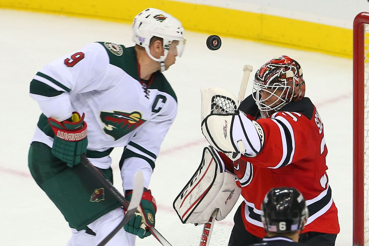 Mikko Koivu will be going hard to the net.  Will Cory Schneider, assuming he starts, fend him and the Wild off again?