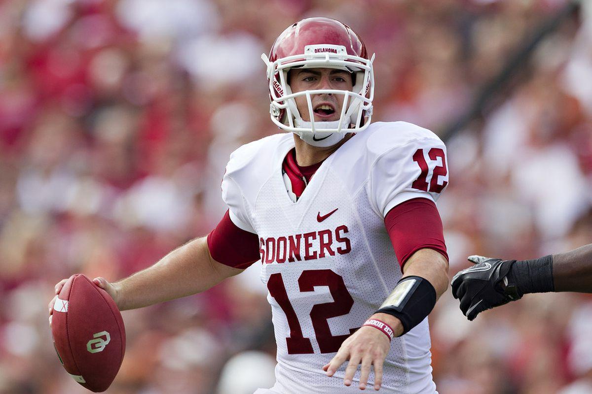 Oklahoma quarterback Landry Jones had his way at the Cotton Bowl against Texas.