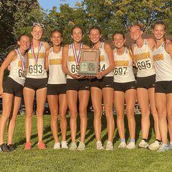 Orems' girls captured the Region 8 championship this season.