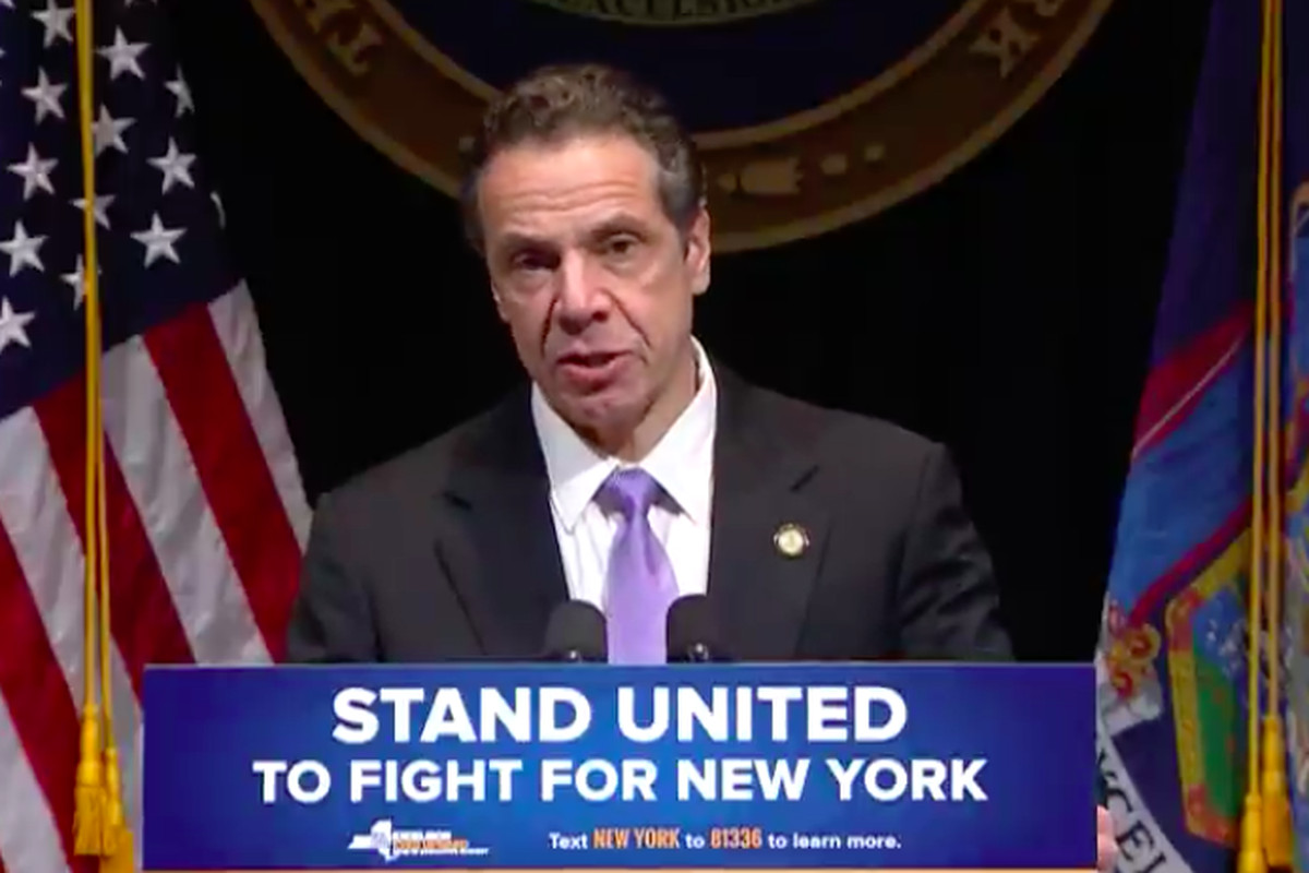 Governor Andrew Cuomo delivers his executive budget address.
