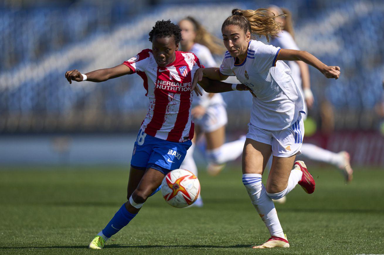 Las Blancas defeated in El Derbi Madrileño 2-0