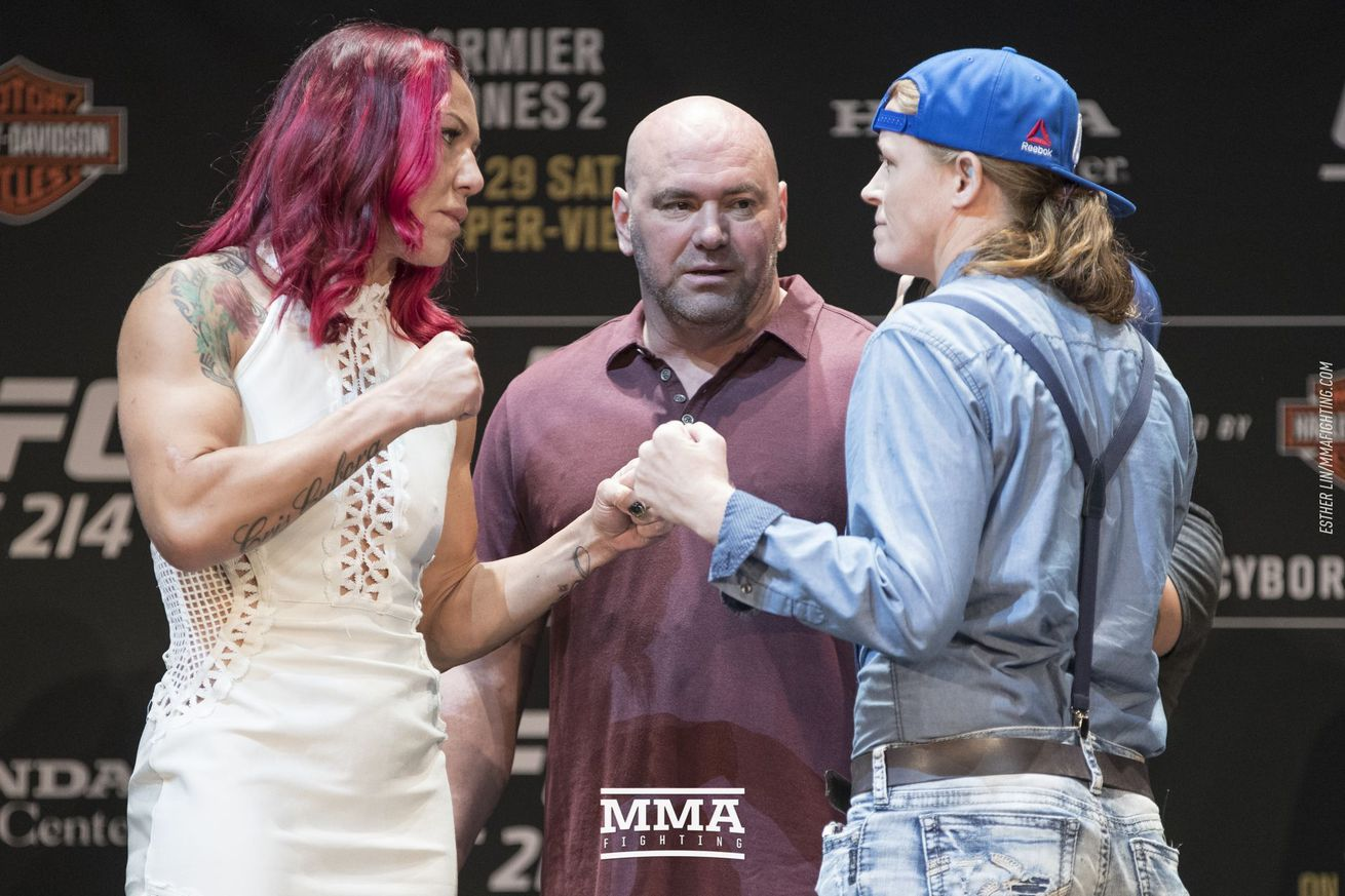 Cris Cyborg, Tonya Evinger agree that Germaine de Randamie knew she wasn't really champion