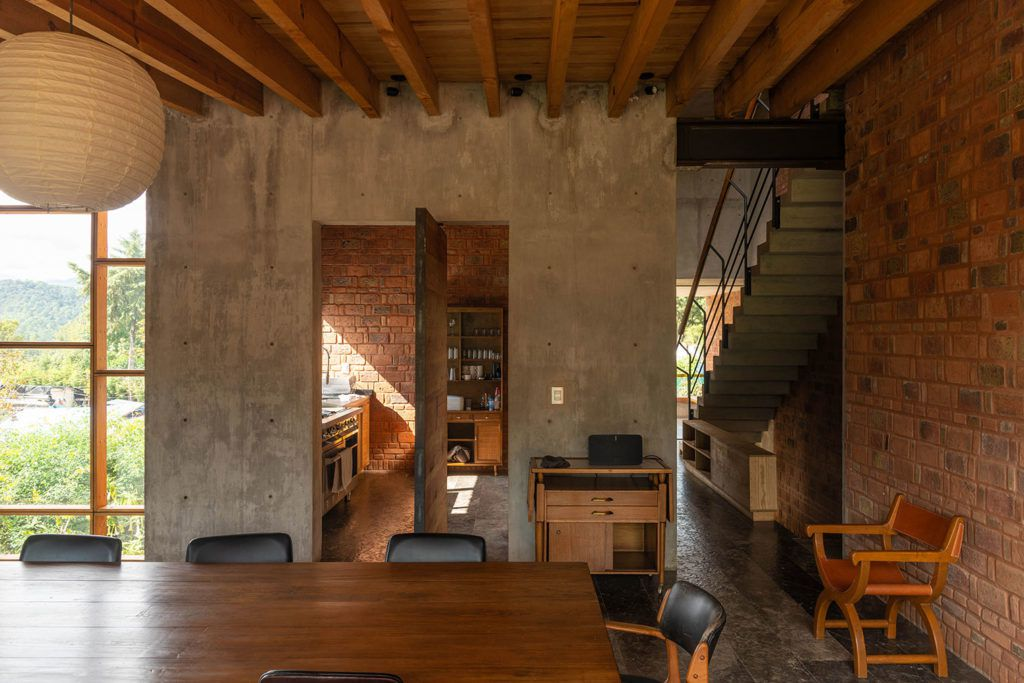 Mexico Vacation Home Inspired By Frank Lloyd Wrights Usonia Curbed
