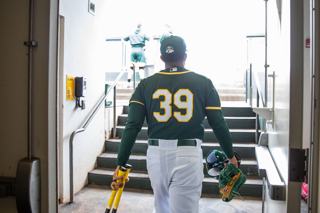 2021 Spring Training: Los Angeles Dodgers v. Oakland Athletics