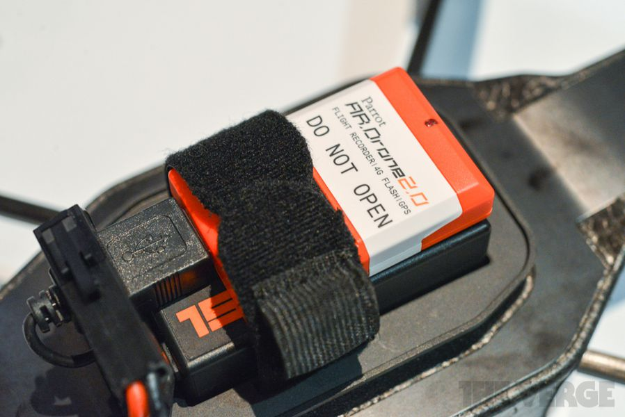 Parrot ARDrone Flight Recorder And Director Mode Hands On Pictures