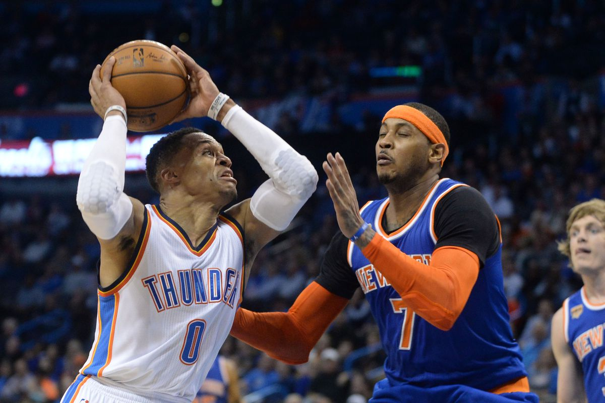 5b3133f4528 Carmelo Anthony traded to the OKC Thunder  GSOM Reaction Roundtable ...